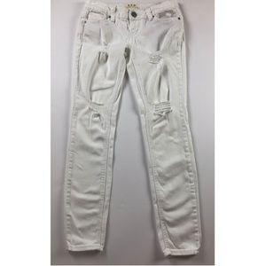 We the Free Womens Jeans 26 White skinny B46-01P